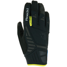 Roeckl Reintal Gants, black/yellow